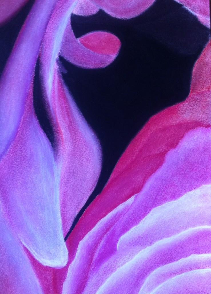 Pastel Bloemdetail